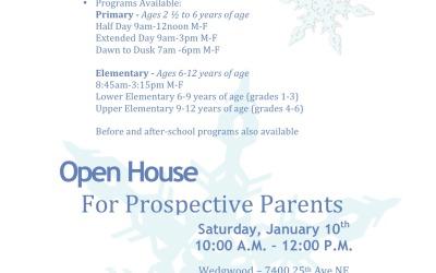 Winter Open House