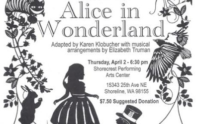 "Drama Llamas present ""Alice in Wonderland"""