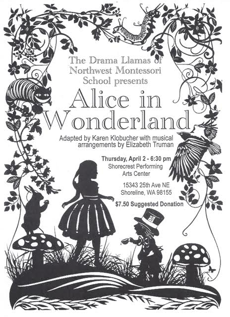 "Drama Llamas present ""Alice in Wonderland"""