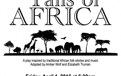 """A Northwest Montessori Play – """"Tails"""" of Africa"""